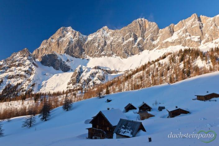 Dachstein Südwände im Winter