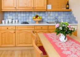 Ferienwohnung Alpengarten Wohnküche