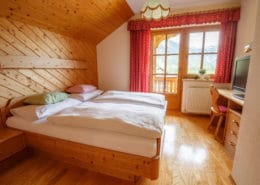 Appartement Hochsitz Schlafraum
