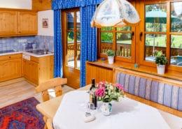 Appartement Sonnblick Wohnraum mit Kitchenette