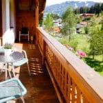 Appartement Talblick Balkon mit Südblick