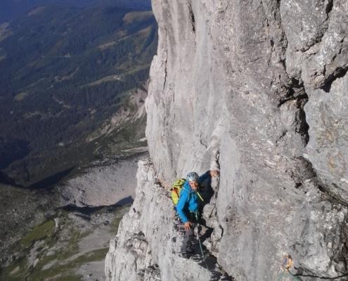 Steinerweg Dachstein Südwand
