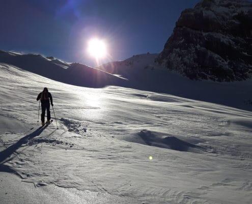 Skitour am Dachsteigletscher