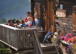 Plenty alpine cabins with delicacies