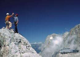 Climbing at Koppenkarstein