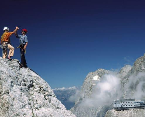 Klettern am Koppenkarstein