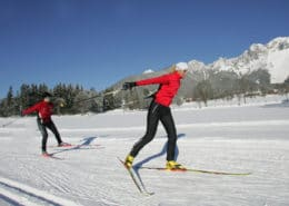 220 km of cross country slopes at Ramsau am Dachstein