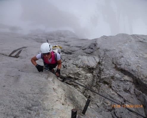 Klettersteig am Dachstein