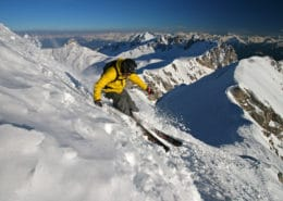 Freeriding at the Dachstein