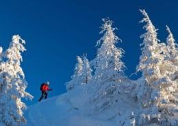 Einsame Skitour in den Schladminger Tauern