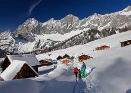 Winterwandern auf der Neustattalm