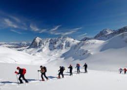 Skitour am Stein im Dachstein Massiv