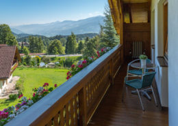 Balcony overlooking the Enns Valley