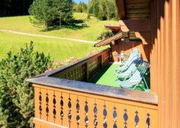 Balkon Appartement Sonnblick