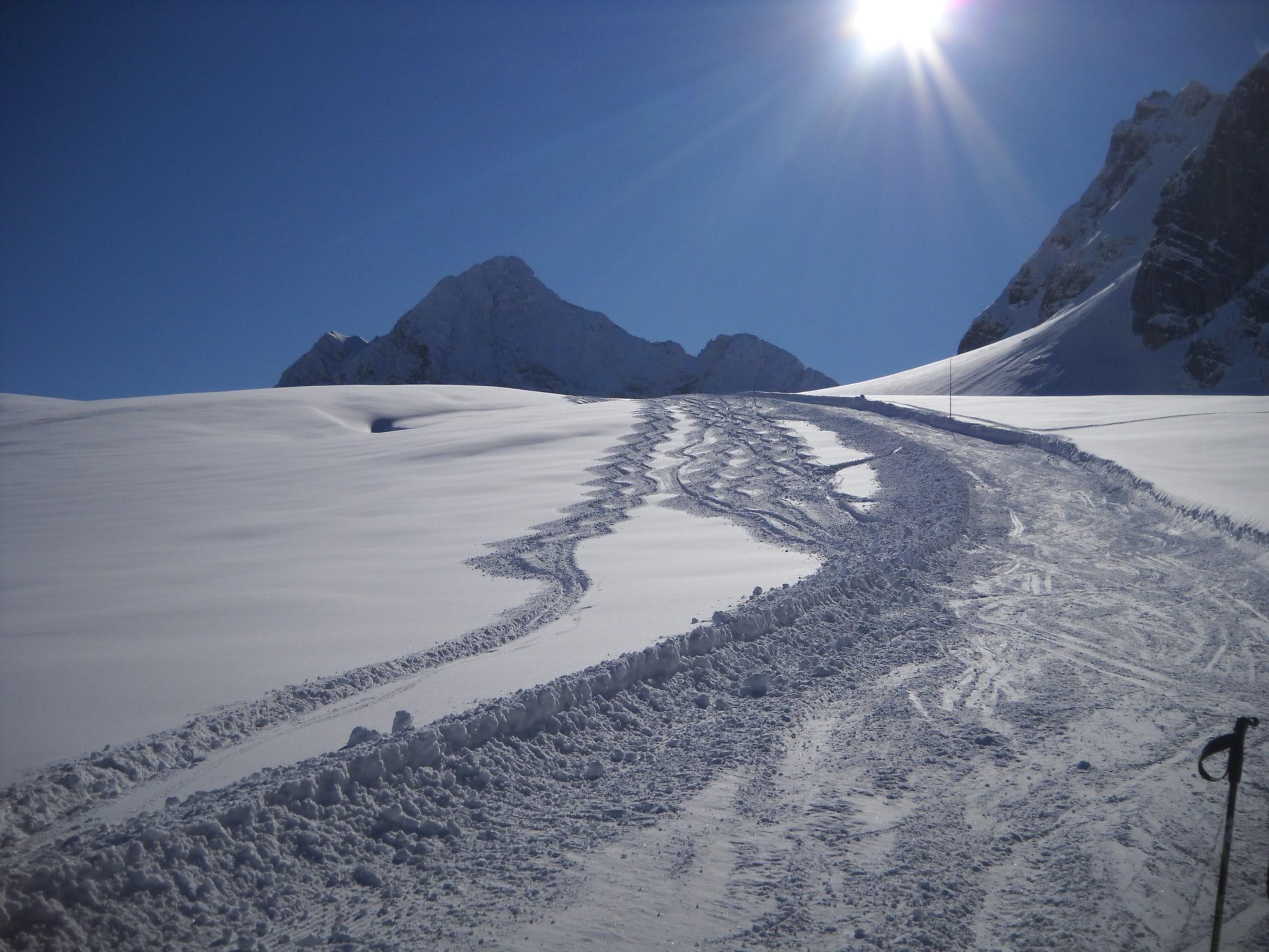 Dachsteinüberquerung Obertraun mit Bergführer