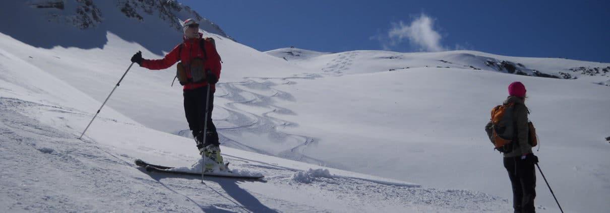 Skitour für Fortgeschrittene