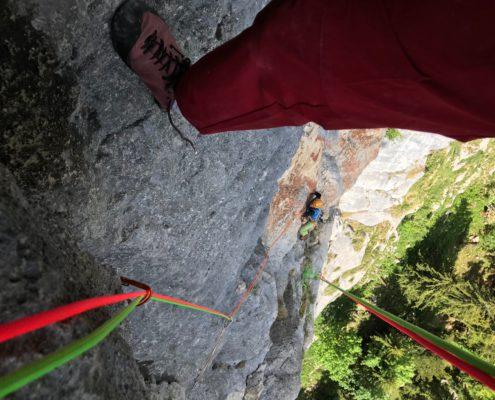 Klettern mit Hans Prugger