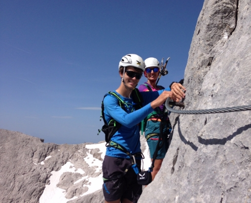 Klettersteig IRG 2 am Koppenkarstein