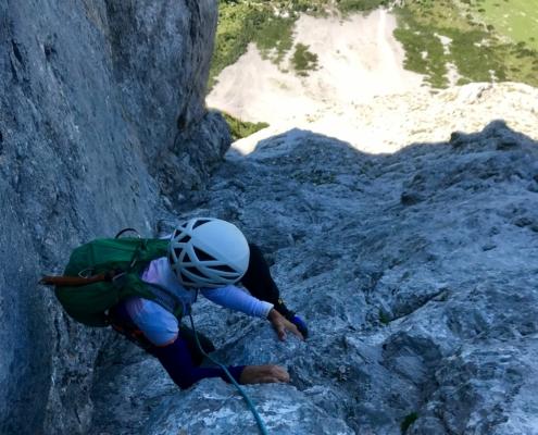Klettertour Türlspitz Südwand
