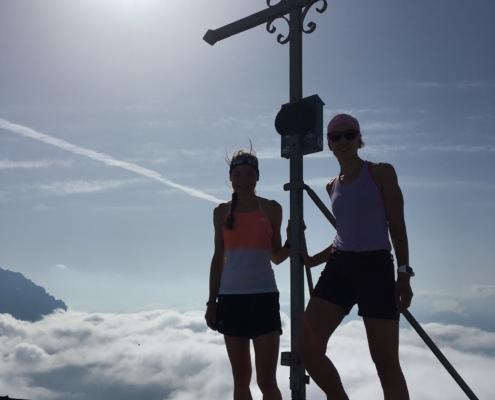 Gipfelglück über den Wolken